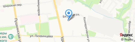 Прогимназия №159 на карте Ижевска