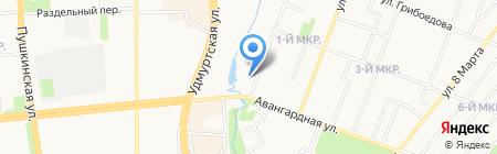 Социально-реабилитационный центр для несовершеннолетних на карте Ижевска