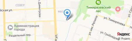 Газовик-1 на карте Ижевска