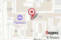 Схема проезда до компании Ижклимат в Ижевске
