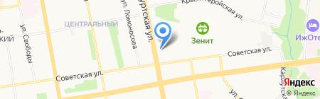 Ижевское Епархиальное Управление на карте Ижевска