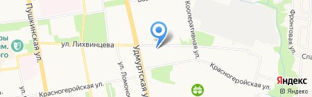 Аспэк Парма Медикал на карте Ижевска