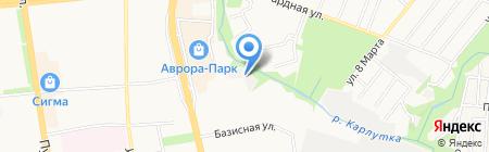 Бэк-офис на карте Ижевска