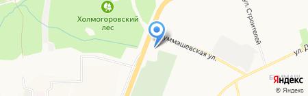 Citroen КОМОС-Авто на карте Ижевска