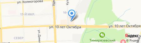 Бестия на карте Ижевска