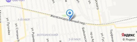 София на карте Ижевска