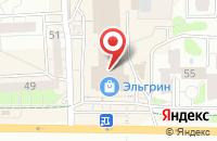 Схема проезда до компании Атлантида-506 в Ижевске