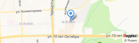 СУ №8112 на карте Ижевска