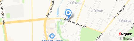 СОЮЗ на карте Ижевска