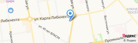 Домоуправа на карте Ижевска