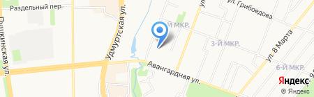 Vip Control на карте Ижевска