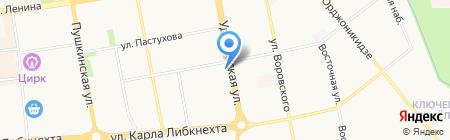 Атлант-Авто на карте Ижевска