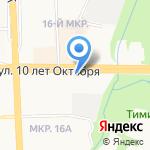 Ультиматум на карте Ижевска