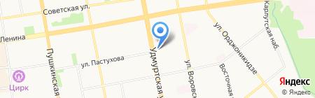 Единая управляющая компания на карте Ижевска