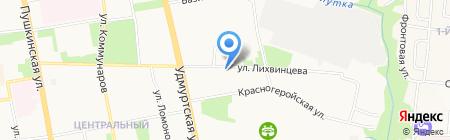 ПромТехКомплект на карте Ижевска