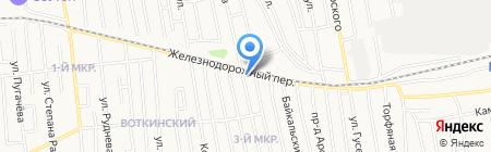 Хлеб-нянь на карте Ижевска