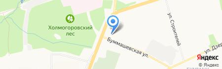 Архитектоника на карте Ижевска