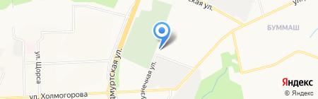 Ипопат-север на карте Ижевска