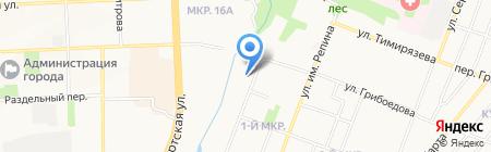 Детский сад №175 на карте Ижевска