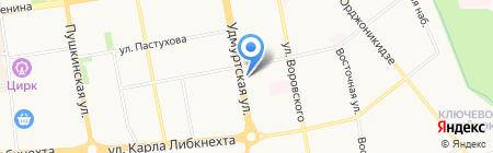 Охрана на карте Ижевска