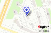 Схема проезда до компании ПЕКАРЬ в Воткинске