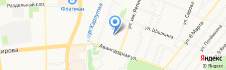 Управление финансов Администрации г. Ижевска на карте Ижевска