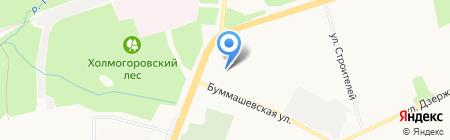 Центр занятости населения Индустриального района на карте Ижевска