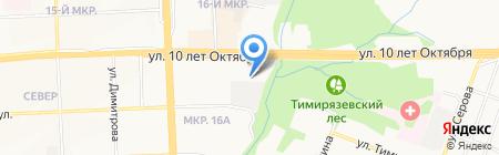 ТмТ-авто на карте Ижевска