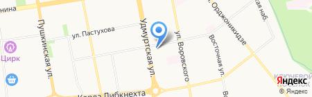 Банкомат Банк ВТБ 24 на карте Ижевска