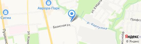 Тюремок на карте Ижевска