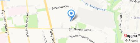 Rally Bar на карте Ижевска
