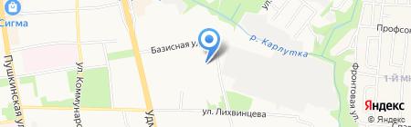 Комплексная СДЮСШОР Удмуртской Республики на карте Ижевска