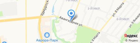 Ломбард капитал ипотека на карте Ижевска