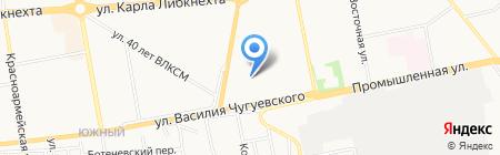 Альтернатива на карте Ижевска