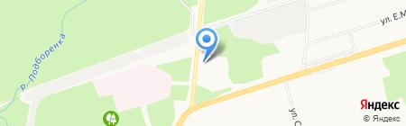 АЗС Bravers на карте Ижевска