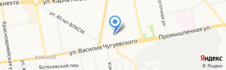 Юрист на карте Ижевска