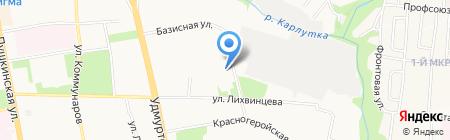Сириус на карте Ижевска