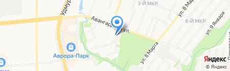 Сжатый воздух на карте Ижевска