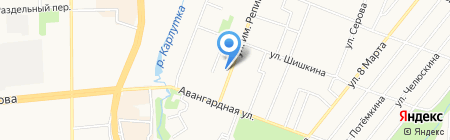 Профи-сервис на карте Ижевска