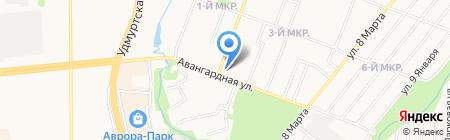 BOOTique на карте Ижевска