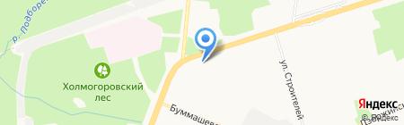Почтовое отделение №39 на карте Ижевска