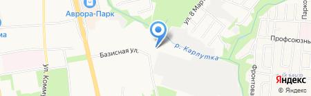 Ижевская воспитательная колония на карте Ижевска