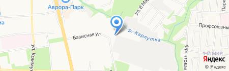 Скорая медицинская помощь на карте Ижевска