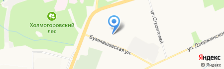 Детский сад №155 на карте Ижевска