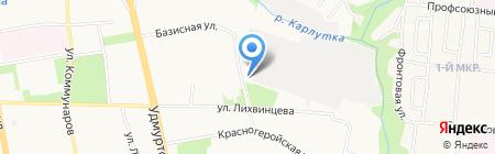 Перископ на карте Ижевска