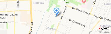 Республиканский социально-реабилитационный центр для несовершеннолетних на карте Ижевска