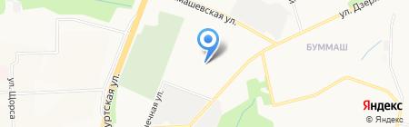 Trivas на карте Ижевска