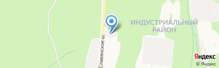 Иж-Авто-1 на карте Ижевска