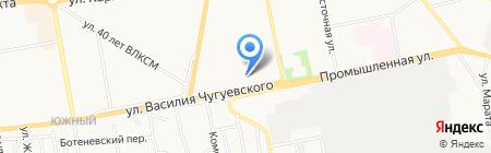 Миледи на карте Ижевска