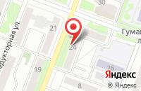 Схема проезда до компании Валерия в Ижевске